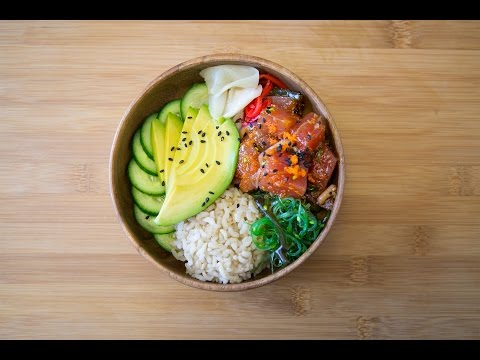 How to Build a Perfect Poke Bowl