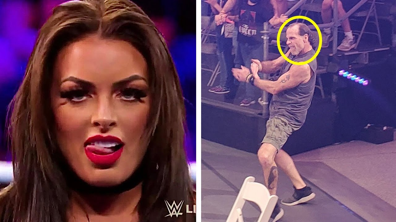 Vince's New WWE Megastar…Mandy Rose New Look…Shawn Michaels Goes Back to Old Look…Wrestling News