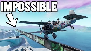 THE *IMPOSSIBLE* PLANE LANDING CHALLENGE In Fortnite Creative!