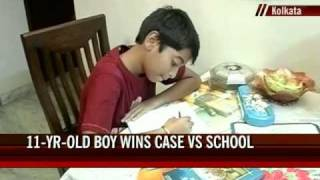 11-year-old wins case to return to La Martiniere