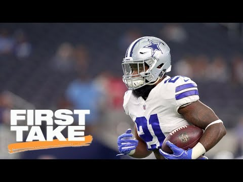 Stephen A. Smith reacts to NFL upholding Ezekiel Elliott's 6 game suspension | First Take | ESPN