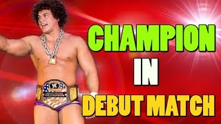 10 WWE Superstars who Won Championships In Their First Match