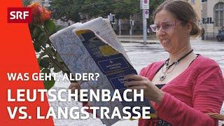 Landfrau Regi ist lost in Zürich