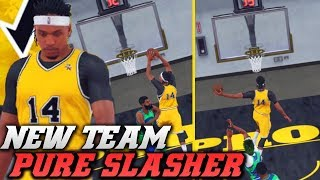 Will A Pure Slasher Work In Pro Am? Triple Double Hunting! NBA 2K18 Pro Am Gameplay
