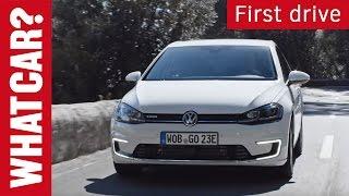 Volkswagen e-Golf 2017 review | What Car? Short