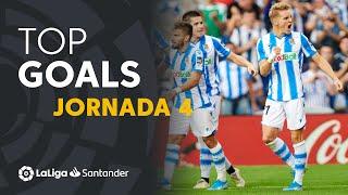 Todos los goles de la jornada 4 de LaLiga Santander 2019/2020