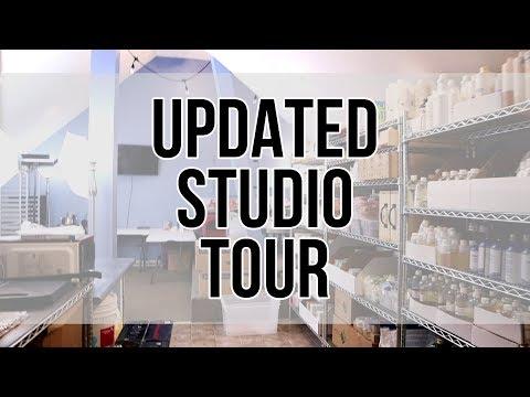 Updated Studio Tour | MO River Soap