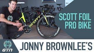 Jonny Brownlee's Scott Foil RC Pro Bike