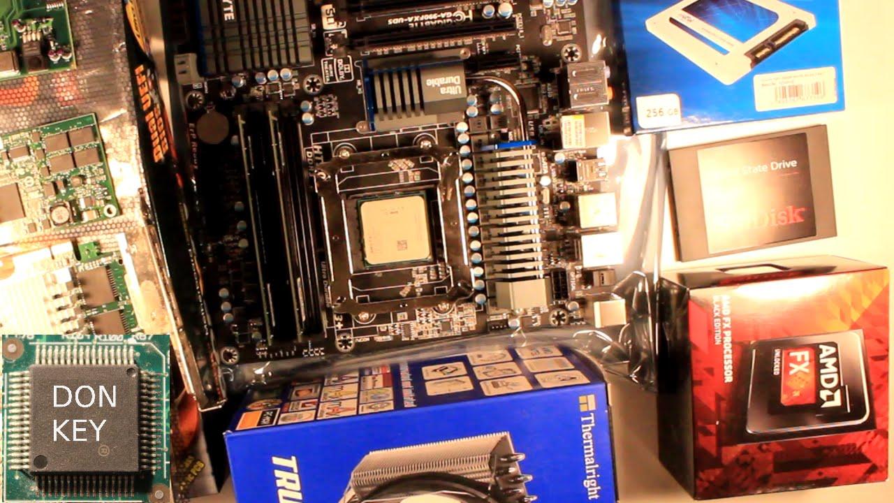Howto Build Virtualization Home Lab 1 Unboxing 990fxa Ud5 Amd Fx Prosesor 8370e Ampquotvisheraampquot 8350 Thermalright 140bw