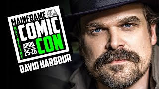 David Harbour Interview at Mainframe Comic Con