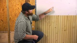 How to Decorate With Wainscot Paneling : Walls & Paneling