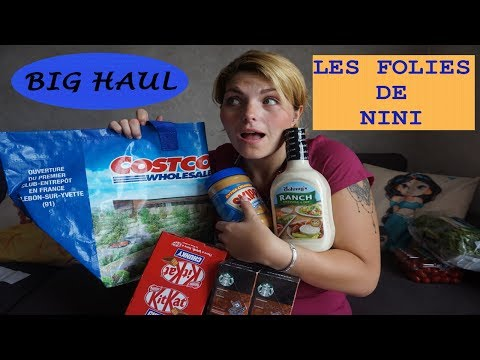 SHOPPING ET HAUL AU PREMIER COSTCO EN FRANCE ! BON PLAN OU PAS ?
