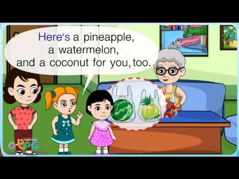 Fruits (ผลไม้) - สื่อการเรียนการสอน ภาษาอังกฤษ ป.2