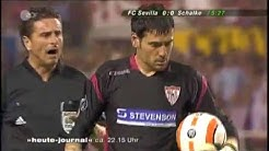 Sevilla Fc 1 - 0 Schalke 04 - Semifinal Uefa cup (Coment Alemán)
