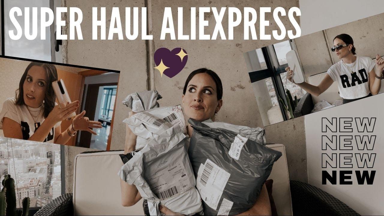 Super UNBOXING ALIEXPRESS HAUL! Complementos, electrónica, funda, rizador, foreo y MAS! 11.11