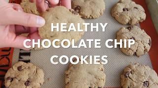 HEALTHY CHOCOLATE CHIPS COOKIE | Emma Pham Kitchen