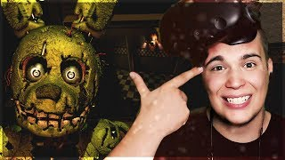 SPRINGTRAP I SPÓŁKA MNIE NISZCZĄ!  - Five Nights at Freddy's VR: Help Wanted #5