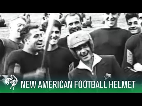 The Invention of the American Football Helmet