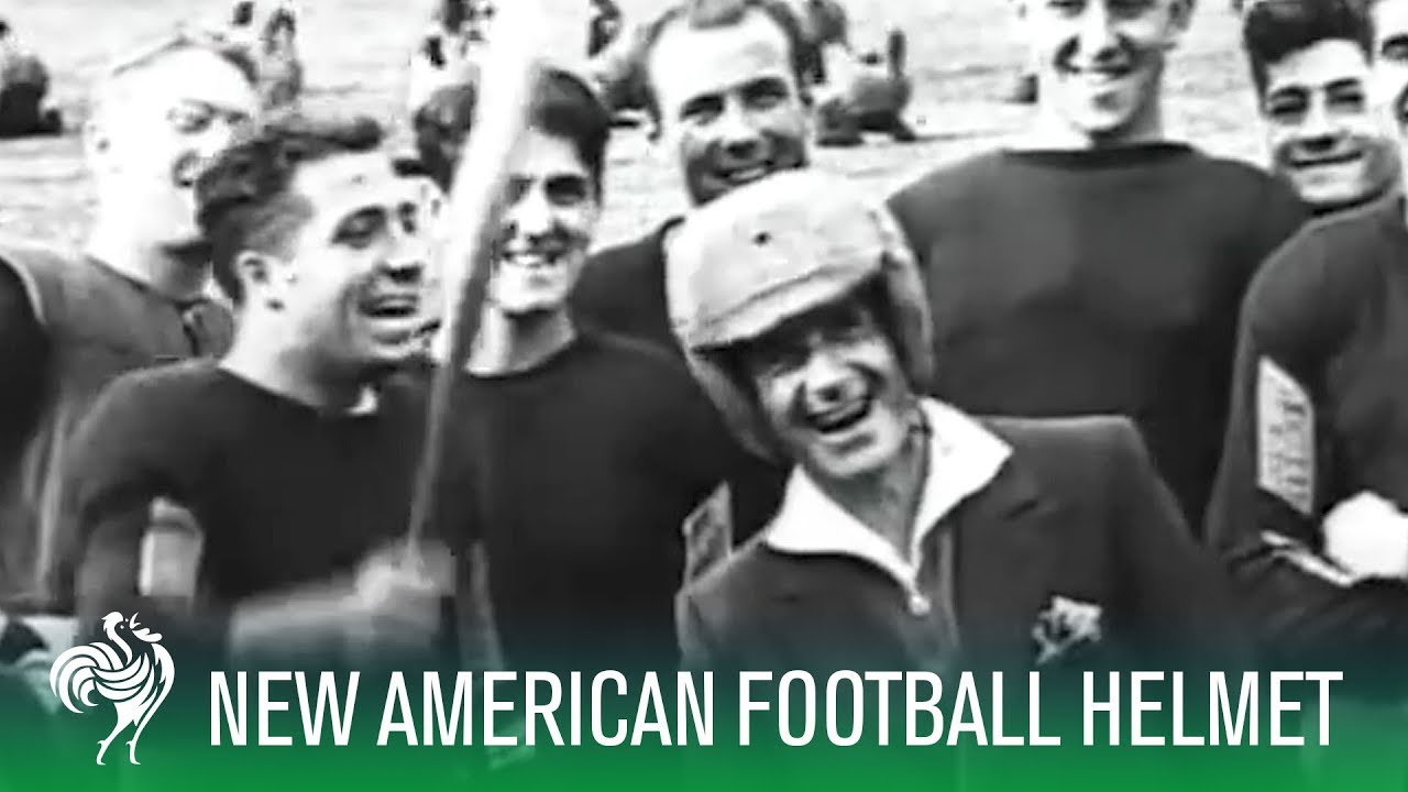 the invention of the american football helmet youtube