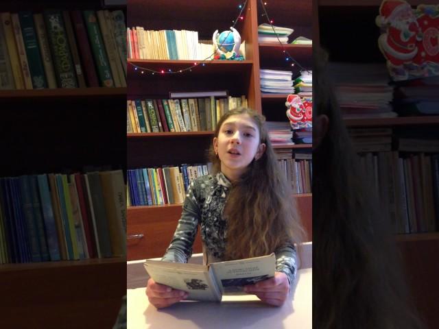 Изображение предпросмотра прочтения – МироноваДана читает произведение «Гроза» А.Н.Островского