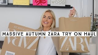 ZARA TRY ON HAUL AUTUMN 2019 | Ruby Holley