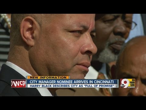 City Manager nominee makes first public remarks