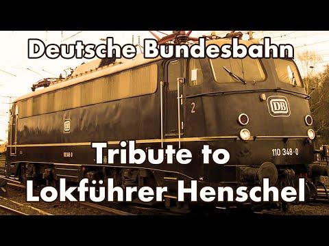 Tribute to Lokführer Henschel - Deutsche Bundesbahn - 1964