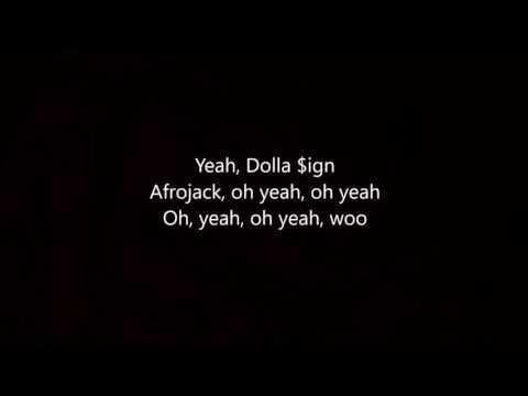 Afrojack-gone ft ty dolla lyrics vidoe