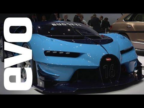 Bugatti Vision Gran Turismo concept at Frankfurt | evo MOTOR SHOWS