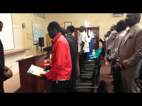 Nuer Congreation Perth