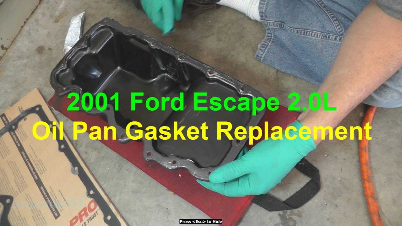 Ford escape oil pan gasket replacement