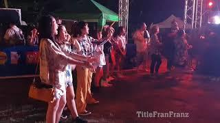 BNK48 beside stage Part 1 @ trang music festival 6  4K