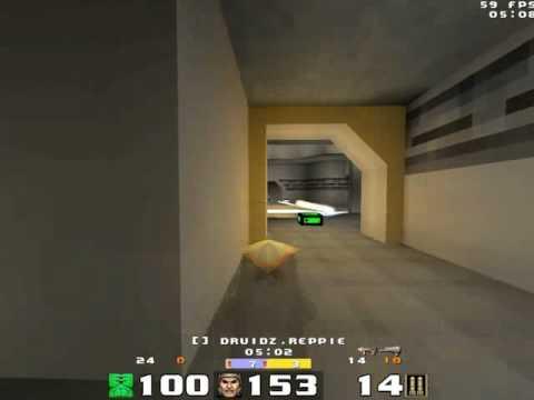 Quakeworld - duel - Reppie vs Bulat - Aerowalk