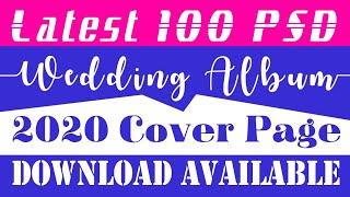 100 Cover Page PSD wedding Album #designingideas