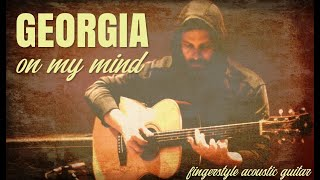 GEORGIA ON MY MIND fingerstyle arrangement by Alberto Lombardi