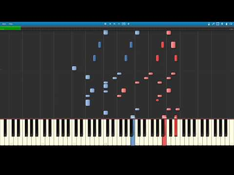 Super Mario Bros. Medley Score - Mallet Ensemble [SYNTHESIA] [SHEET MUSIC]