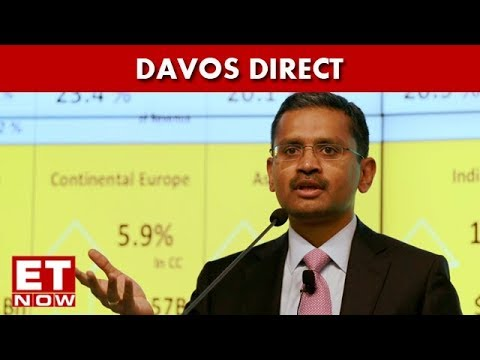 TCS CEO, Rajesh Gopinathan Hails PM's Modi Push For Globalisation In Davos 2018