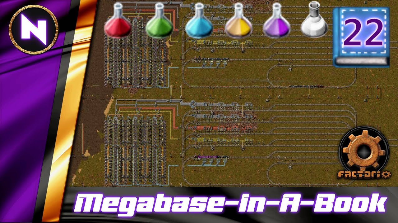 Download This Is What 5400 BLUE SCIENCE / MIN Looks Like   #22   Factorio Megabase-In-A-Book Lets Play