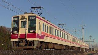 東武6050系6156F楡木~樅山通過