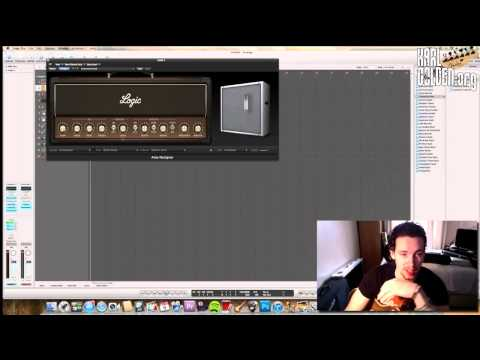 Slash Guitar Tone (Guns N Roses) - Logic Pro 9 (Karl Golden)