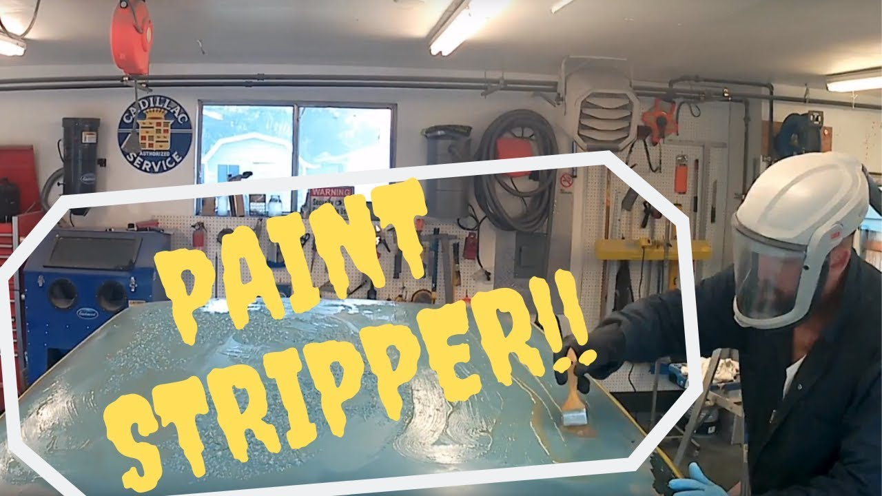 Aviation paint stripper video