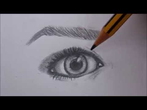 Tutorial Come Disegnare Un Occhio By Maryluart Youtube