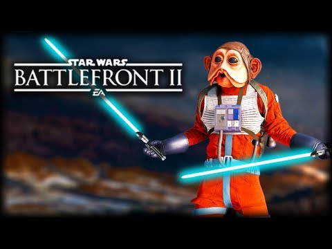 Star Wars Battlefront 2 - Funniest Gameplay Moments of 2017