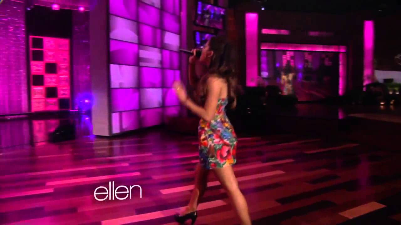 ariana grande performs the way on the ellen show youtube
