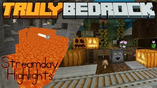 Trick or Treat & all the Lava! Truly Bedrock SMP | Season 1