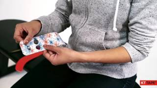 kt tape carpal tunnel syndrome wrist application腕管綜合症 肌內效貼復健貼法 俗稱 網球肘 滑鼠手 媽媽手
