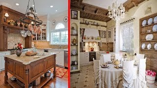 Country Kitchen Decorating Ideas & Modern Rustic Style Kitchen Decor