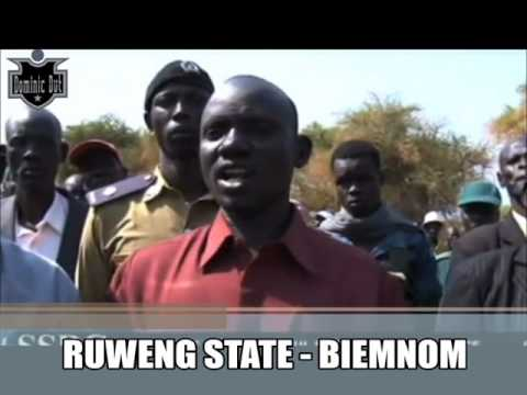 South Sudan news -Biemnom - RUWENG STATE. 1/14/2017