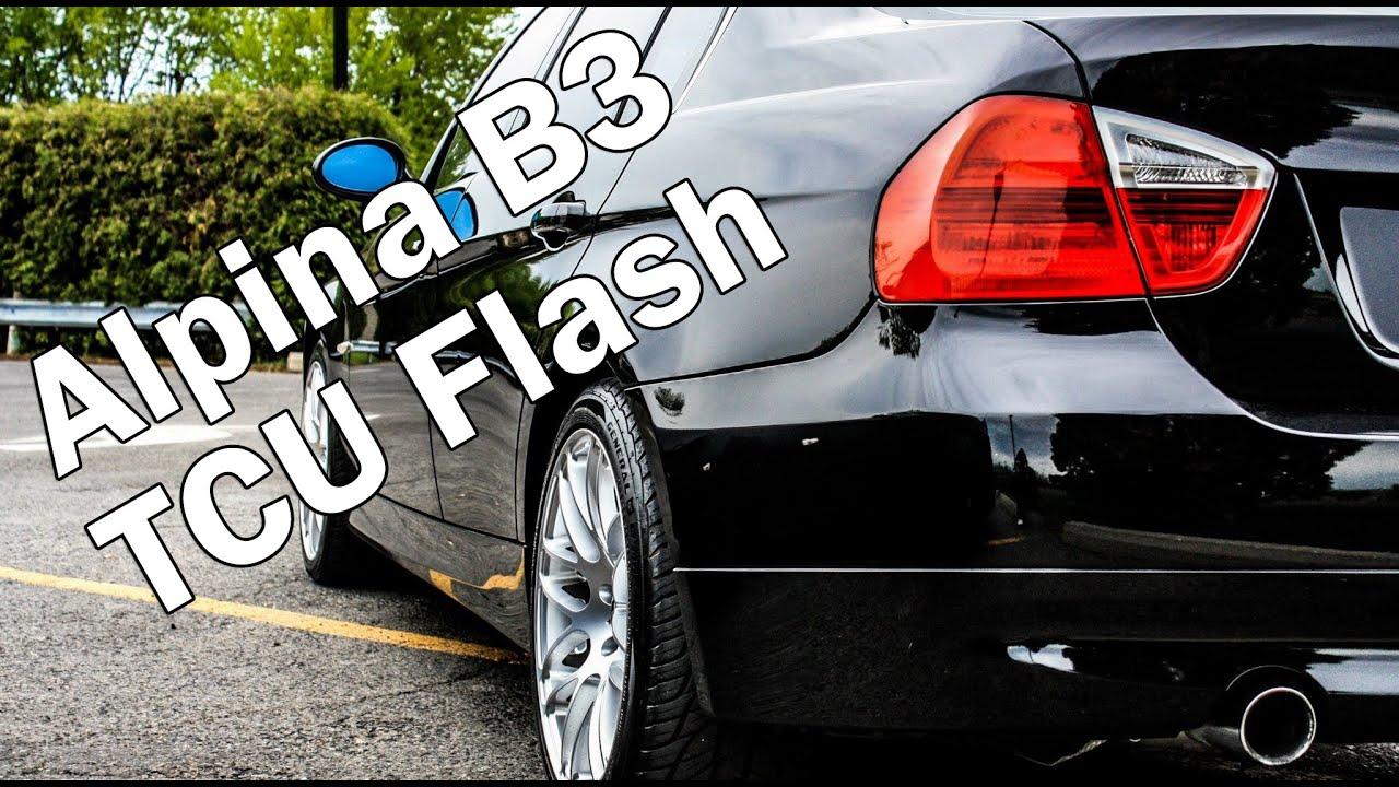 Bmw 335i At With Alpina Tcu Flash Youtube