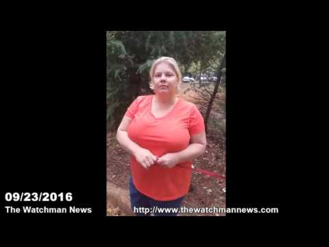 The Watchman News 09/23/2016 Witness To The Keith Scott Shooting Charlotte North Carolina